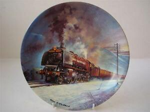 BRADEX-DAVENPORT-POTTERY-GREAT-STEAM-TRAINS-THE-ROYAL-SCOT-PLATE