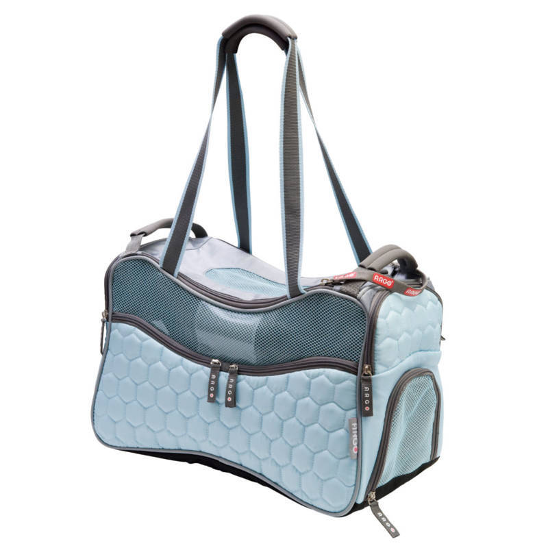 Argo Petagon airline approved pet carrier -blu fashion