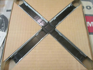 S Gauge 90 Degree Cross Over Track #26745 by American Flyer