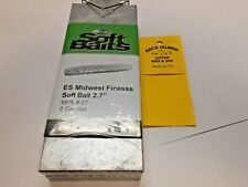 """96009 Do-It Beaver Style Bug 4.5/"""" Soft Bait Mold I refund excess shipping!"""