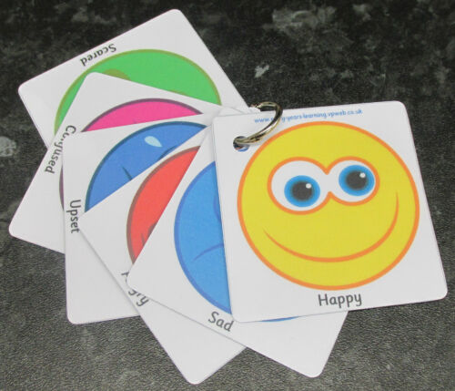 Emozioni comunicazione Flash cards incoraggiare un comportamento corretto ~ autismo ~ sen ~ scuole ~