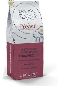 Acido Citrico Monoidrato 1KG - E330 - EUROPEO - Jungbunzlauer -uso alimentare UHIDazYu-07135433-902772233