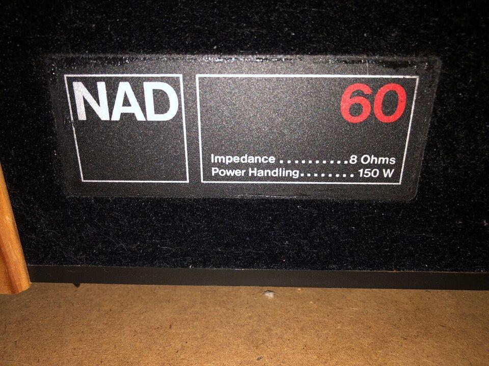 Højttaler, NAD, 60