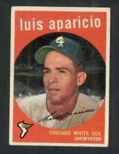 1959 Topps #310 Luis Aparicio EX/EX+ White Sox 122877