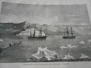 Gravure-1876-Apparition-des-Glaces-flottantes-Ocean