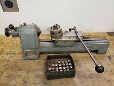 Derbyshire 750 Watchmakers Lathe With Capstan Tailstock And 22 Collets