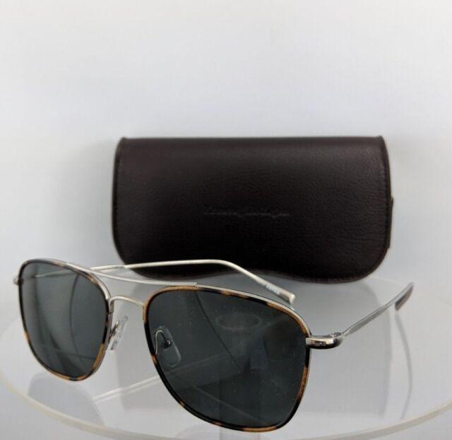 9e8d9e693d26 Brand New Authentic Ermenegildo Zegna Sunglasses EZ 0052 14N 56mm Silver  Frame