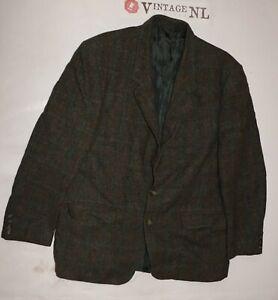 HERREN-luxus-Harris-Tweed-Sakko-Ca-Gr-52-Jacke-hochwertig-JACKET-BUSINESS