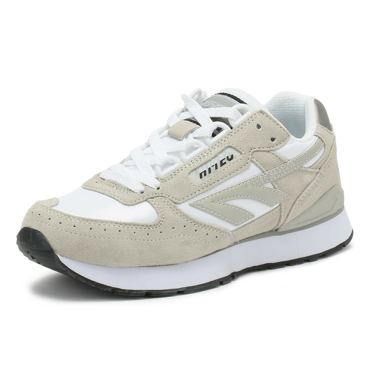 6c9877a905f Hi-Tec Unisex Trainers Silver Shadow Grey Lace Up Sport Casual shoes Cool  White otlokp3052-Women s Trainers