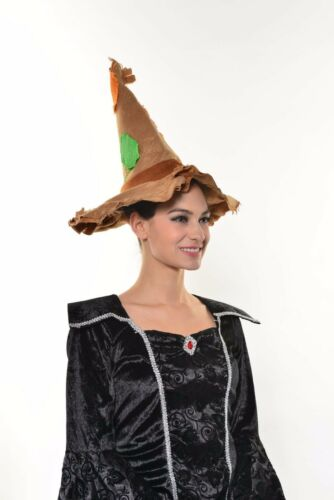 HALLOWEEN COSTUME SCARECROW HAT ADULTS /& KIDS PUMPKIN PARTY  G1355