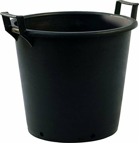 2 x Large Size 80L Plastic Plant Pot Outdoor Garden Tall Tree Planter Container