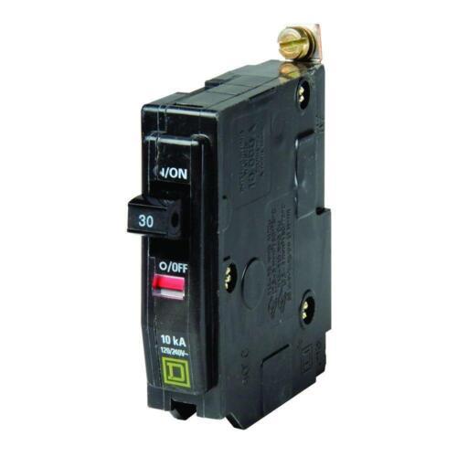 Square D Perno de un polo 30 Amp en stock viejo interruptor de circuito