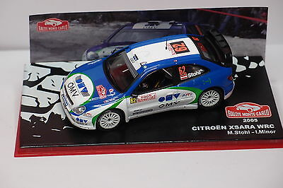 IXO ALTAYA CITROEN XSARA WRC #62 MONTE CARLO 2005 1//43