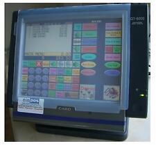 Casio QT-6100 QT6100 pantalla Wetcover cubierta mojada