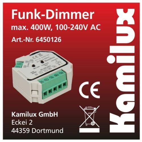 400 für Dimmbare Led Leuchtmittel Tast Dimmer universal Elmo 230V-LED max