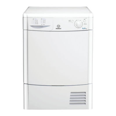 INDESIT Ecotime IDC8T3B Condenser Tumble Dryer – White - Currys