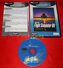 MICROSOFT FLIGHT SIMULATOR 98 PC Versione Italiana Economica ○○○○ USATO - DJ