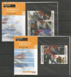NEDERLAND-postzegelmapje-M218-a-b-postfris-MNH