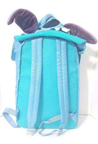 Disney Parks Lilo /& Stitch Backpack W// Stitch Ears Hat Hoodie Blue Book Bag