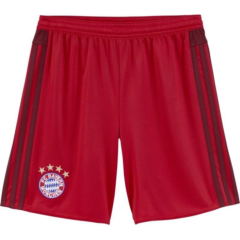 Adidas FC Bayern München Home Short 2015 2016 Kids rot rot rot bordeaux  | Neueste Technologie  027afe