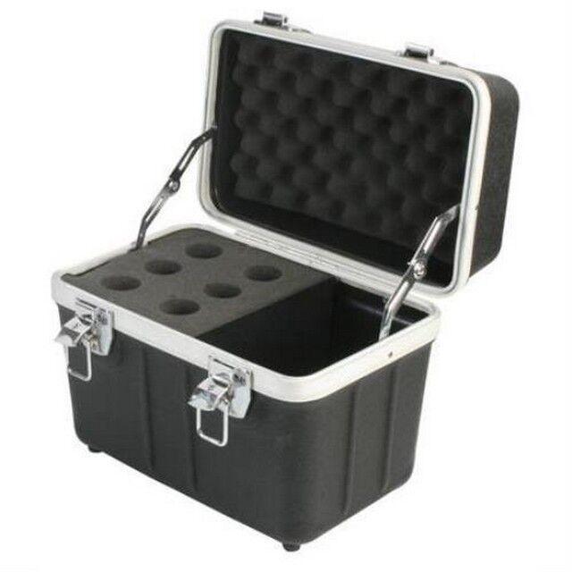 MCM-555-19510 6 Mikrofon Mikrofon Mikrofon Flight Case Box, Foam, Handle, Zubehör