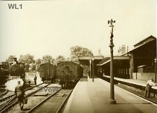North Norfolk Postcard - Wells next the Sea - LNER Railway Station - WL1