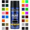 All-Purpose Aerosol Spray Paints Gloss Matt Metallic Primer Varnish Hammer 400ml