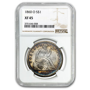 1860-O-Liberty-Seated-Dollar-XF-45-NGC-SKU-118169