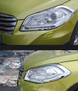 For Suzuki SX4 S-Cross Crossover 2013-2016  Front Fog Light Lamp Cover Trim Parts & Accessories Car & Truck Parts