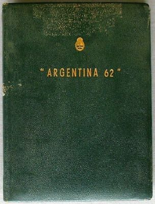 "89 Proofs ""escuditos"" Argentinien Exposition ""argentina 62"" Special Book Sporting S876"