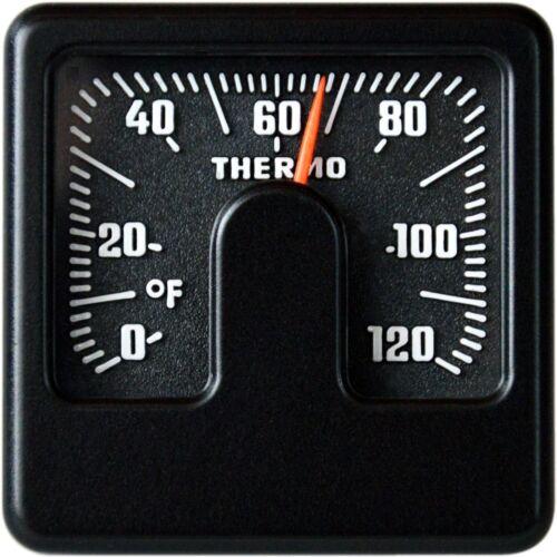 Bimetall Fahrenheit Thermometer Reliefskala RICHTER HR Art 4666 justierbar