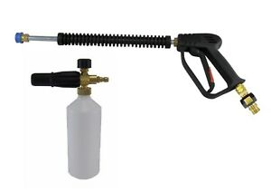 Compact Quick Release 11.6mm Wash Gun /& Snow Foam Lance 5 Litres Snow Foam