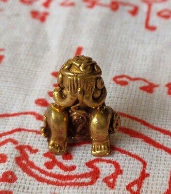 Statue Phra Nak Prok Naga Talisman Yant Fetish mascot For saturday Thai Amulet