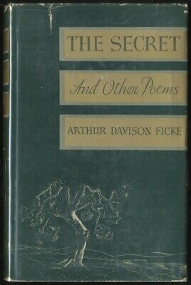 Arthur Davison Ficke The Secret And Other Poems First Edition