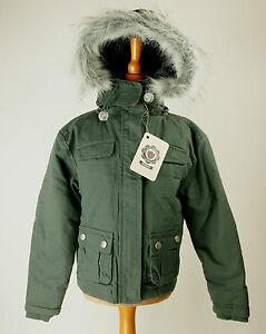 50% Preis detaillierter Blick Super Qualität Details zu Fila Jacke Übergangsjacke Kinder Junge dunkel grün Größe 104 Neu  mit Etikett