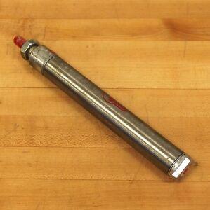 "BIMBA 127-D Pneumatic Cylinder 1 1/4"" Bore 7"" Stroke - USED"