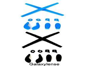 x Carré penny bleu Nez Caoutchouc Noir Earsocks Juliet Kits mars Tampons Oakley 8qwYazn