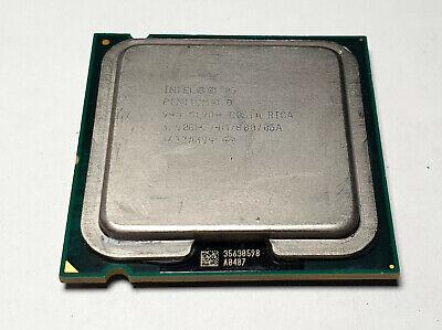 Intel Pentium D 945* SL9QQ*SL9QB* 3.4GHz//4M//800 LGA775 CPU Processor for Desktop