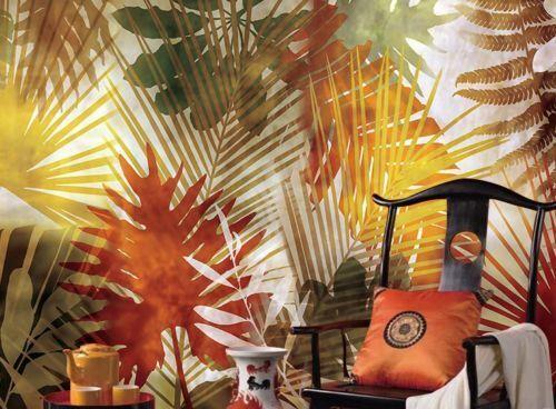 3D Farbe Blatt Kunst 88 Tapete Wandgemälde Tapete Tapeten Bild Familie DE