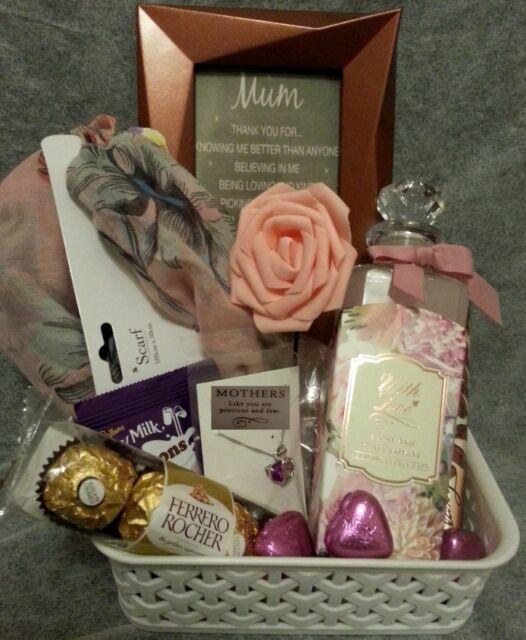 MOTHERS GIFT HAMPER FOR HER BIRTHDAY MUM GRANDMA CHOCOLATE Ferrero Rocher Xmas