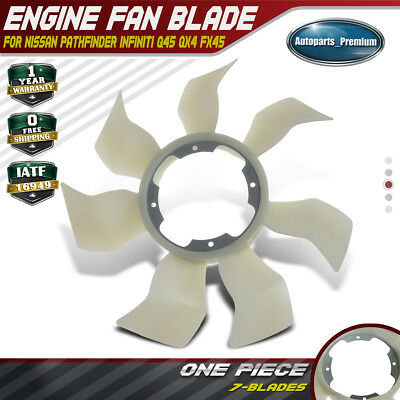 Engine Cooling Fan Blade for Nissan Pathfinder 2001-2004 Infiniti Q45 FX45 QX4