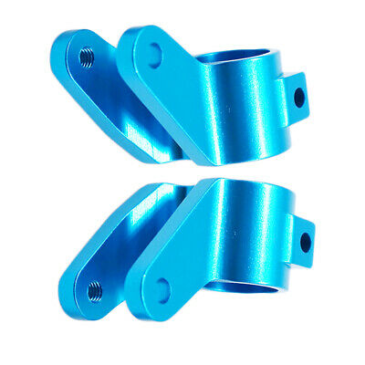 L/&R Aluminum Rear Bearing Carriers Hubs Part for 1//10 Rustler//Stampede//Slash