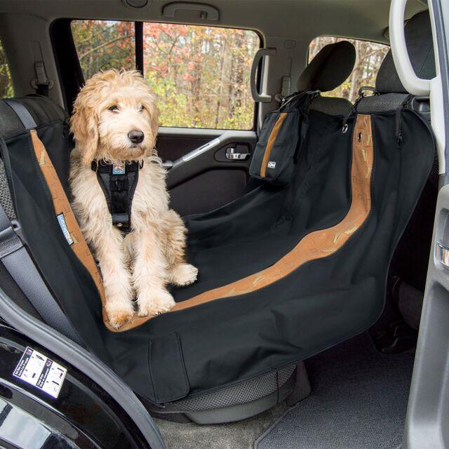 Black Universal Waterproof Car Rear Back Seat Cover Pet Heavy Duty Protector Fit