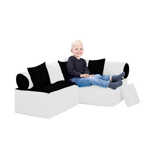 Noir & Blanc Enfants coin lecture soft Play Pépinière sièges enfants canapé