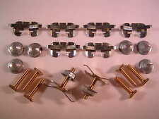 MK1 FORD CAPRI REAR HOCKEY STICK CHROME MOULDING CLIPS TRIM PRE FACELIFT RS GHIA