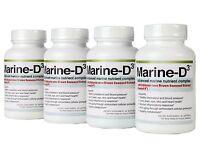 Marine-d3 | Anti Aging | Marine Essentials | Seanol-p | Omega-3 | Softgels X4