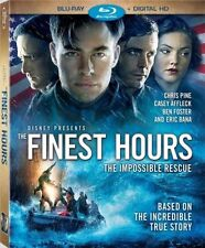 PRE-ORDER : THE FINEST HOURS (Chris Pine)  -  Blu Ray - Region free (24/05/16)