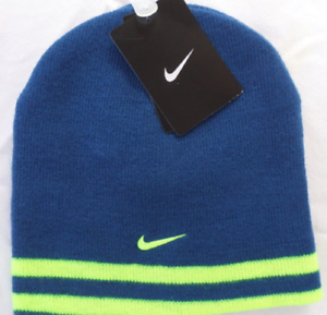 2111e9e7ddb Youth Boys Size 8 20 Nike Stretch Knit Winter Beanie Reversible Hat ...