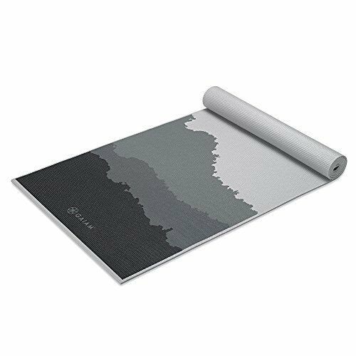 NEW Gaiam Premium Print Yoga Mat Granite Mountains 5 6mm FREE SHIPPING