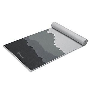 New Gaiam Premium Print Yoga Mat Granite Mountains 5 6mm Free Shipping Ebay
